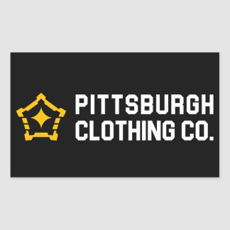 PGH Clothing Co. - Side Wordmark Decals Sticker