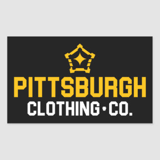 PGH Clothing Co. - Wordmark Decal Sticker