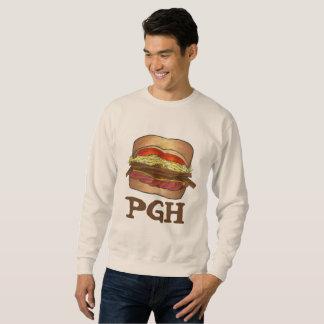 PGH Pittsburgh PA Sandwich Foodie Sweatshirt