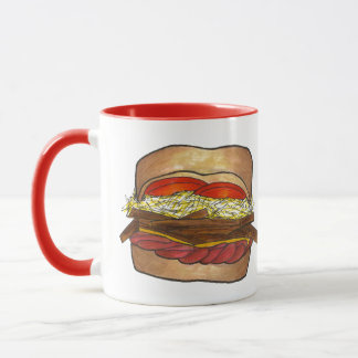 PGH Pittsburgh Pennsylvania Sandwich Foodie PA Mug