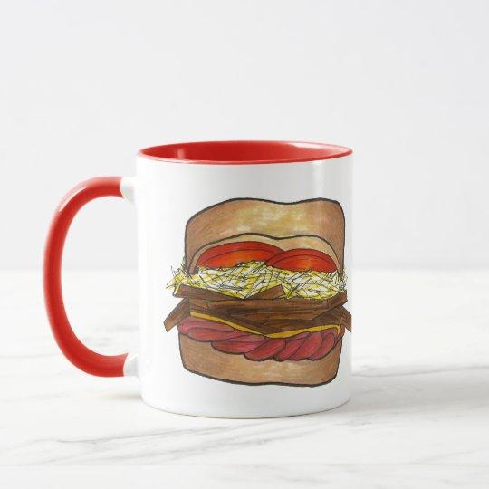 PGH Pittsburgh Pennsylvania Sandwich Foodie PA Mug