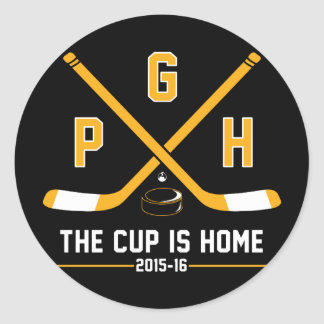 PGH - The Cup is Home Classic Round Sticker