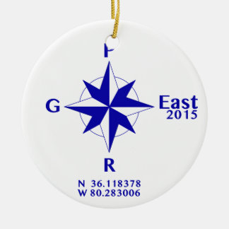 PGR East 2015 sun catcher Ceramic Ornament