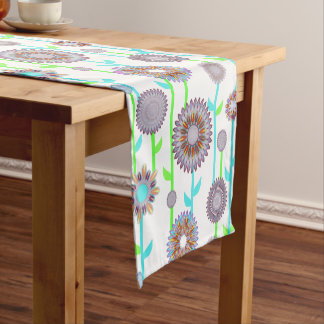 PH&D Flower Power Contemporary Table Runner Lilac