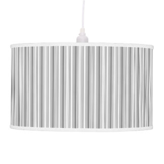 PH&D Julianne Stripe Pendant Lamp Monochrome