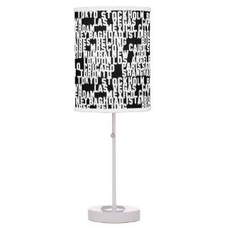 PH&D Metropolitan City Table Lamp Night