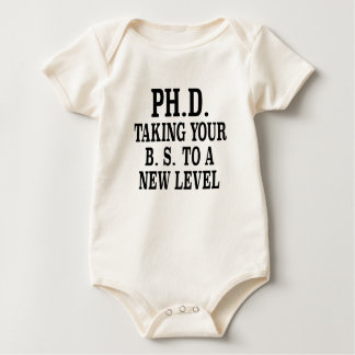 ph.d. taking your bs to a different level shirt