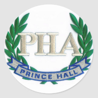 PHA Products Classic Round Sticker