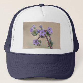 Phacelia Purple Wildflowers Trucker Hat