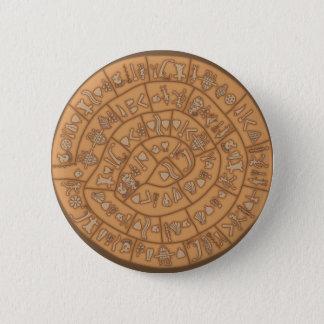 Phaistos disc 2 inch round button