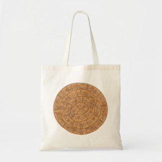 Phaistos disc tote bag