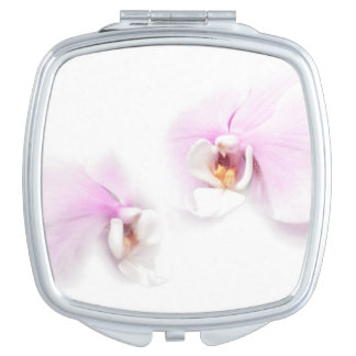 Phalaenopsis Hilo Lip Flower Duo Compact Mirror