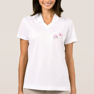 Phalaenopsis Hilo Lip Flower Duo Polo Shirt