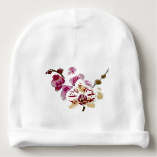 Phalaenopsis Orchid Flower Bouquet Baby Beanie
