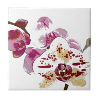 Phalaenopsis Orchid Flower Bouquet Tile