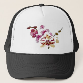 Phalaenopsis Orchid Flower Bouquet Trucker Hat