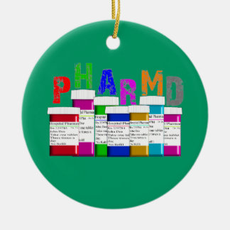 PhamD  Prescription Christmas Ornament