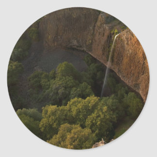 Phantom Falls Disappearing Act, Chico CA Classic Round Sticker
