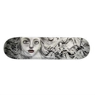 Phantom Girl Drawing Skate Board Deck