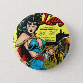 Phantom Lady 2 Inch Round Button