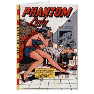 Phantom Lady and the Black Light Card