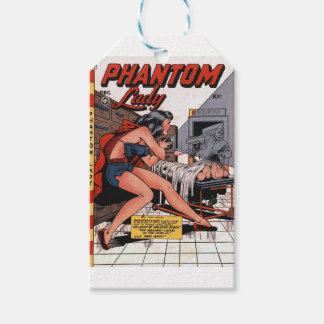 Phantom Lady and the Black Light Gift Tags