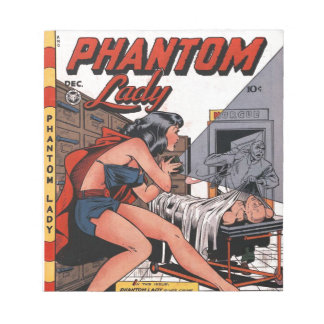 Phantom Lady and the Black Light Notepad