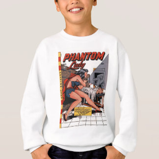 Phantom Lady and the Black Light Sweatshirt