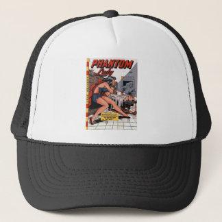 Phantom Lady and the Black Light Trucker Hat