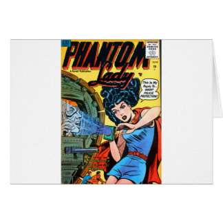 Phantom Lady -- Meanest Men in the World Card