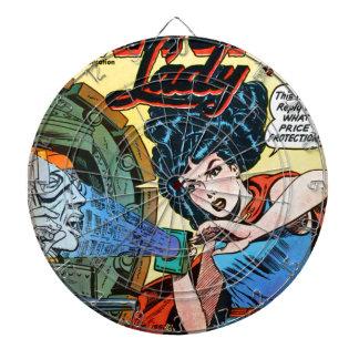 Phantom Lady -- Meanest Men in the World Dartboard