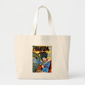 Phantom Lady -- Meanest Men in the World Large Tote Bag