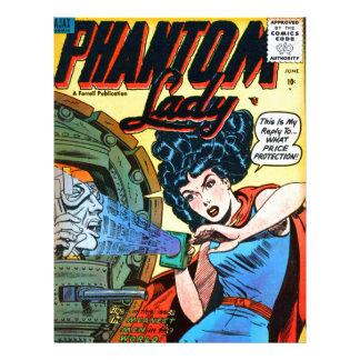 Phantom Lady -- Meanest Men in the World Letterhead