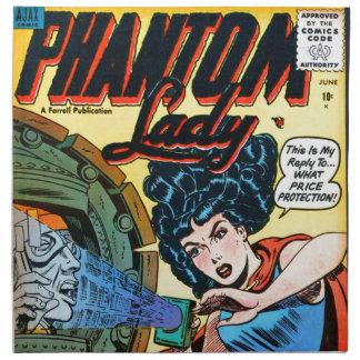 Phantom Lady -- Meanest Men in the World Napkin