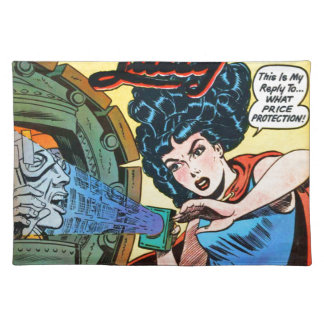 Phantom Lady -- Meanest Men in the World Placemat