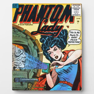 Phantom Lady -- Meanest Men in the World Plaque
