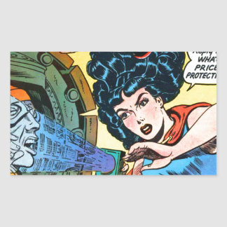 Phantom Lady -- Meanest Men in the World Sticker