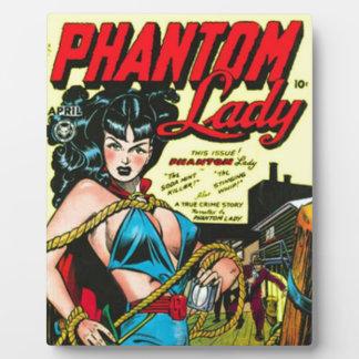 Phantom Lady Plaque