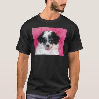 Phantom/Parti Poodle Puppy Face T-Shirt