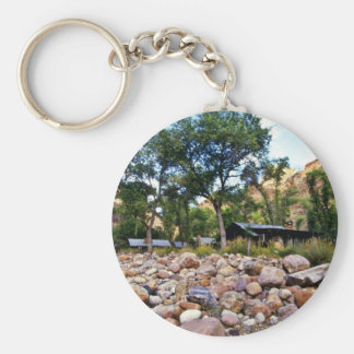 Phantom Ranch - Grand Canyon National Park Basic Round Button Keychain