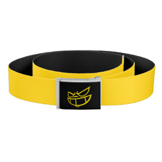 Phantom Smile™ Brand Yellow & Black Belt