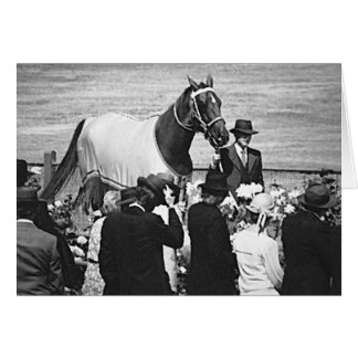 Phar Lap runs late Card