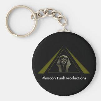Pharaoh Funk Productions Key Chain