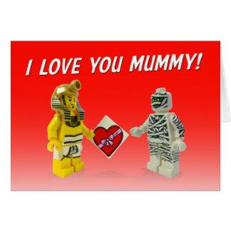 Pharaoh giving Mummy chocolates! Card