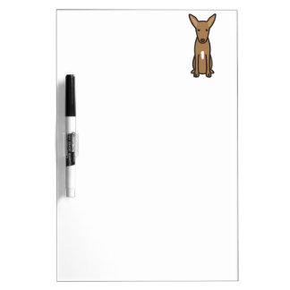 Pharaoh Hound Dog Cartoon Dry-Erase Whiteboards