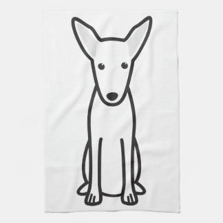 Pharaoh Hound Dog Cartoon Towel