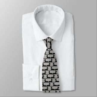 Pharaoh Hounds Pattern Tie