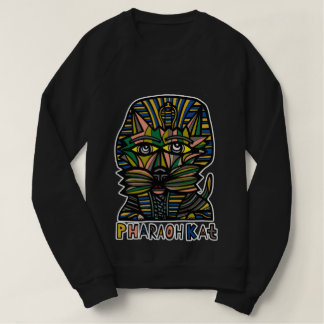 """Pharaoh Kat"" Women's American Apparel Sweatshirt"