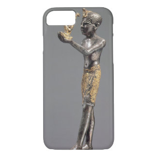 Pharaoh making an offering before the Goddess Maat iPhone 7 Case