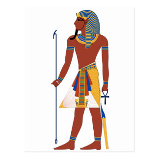 Pharaoh Postcard